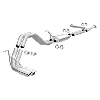 MagnaFlow® - MagnaFlow Series™ Stainless Steel Cat-Back Exhaust System with Dual Side Exit