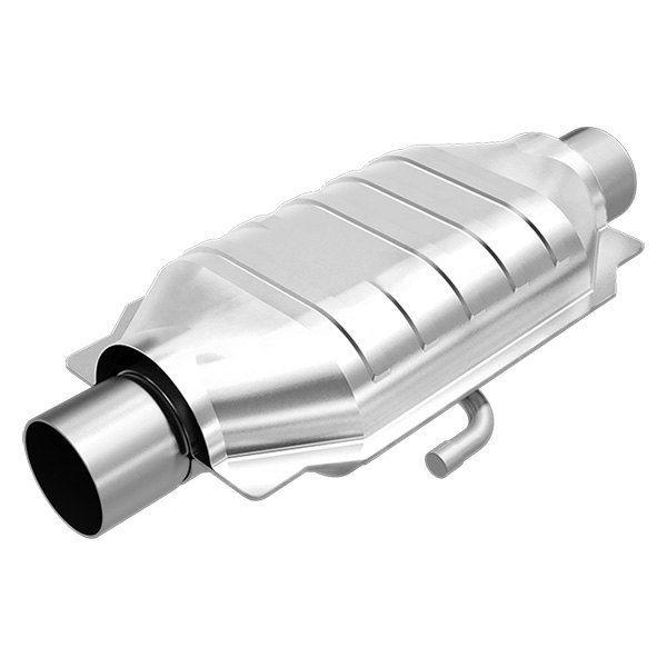 MagnaFlow® - Heatshield Covered Universal Fit Oval Body Catalytic Converter