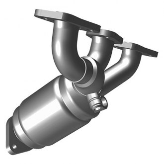 MagnaFlow® 49313 - OEM Grade Stainless Steel Exhaust Manifold with Integrated Catalytic Converter