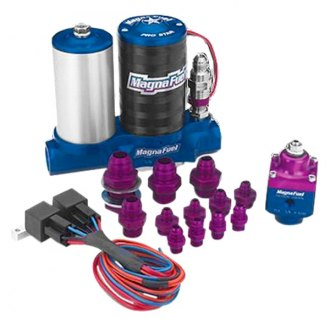 MagnaFuel® - Dual 4 Barrel Fuel System Kit