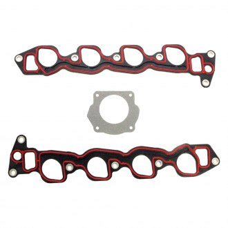 Magnum Gasket® - MaxDry SS™ Molded Rubber on Composite Carrier Lower Intake Manifold Gasket Set