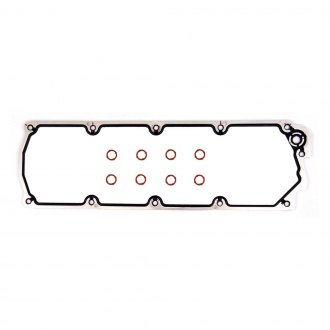 Magnum Gasket® - MaxDry SS™ Molded Rubber on Aluminum Carrier Intake Manifold Valley Cover Gasket Set