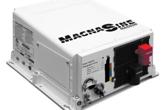 Magnum® - MagnaSine™ MS Series Pure Sinewave Inverter / Charger (2000W, 12V Inverter, 100 Amp PFC Charger, 30 Amp Single Input / 2-15A AC Breakers)