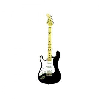 Main Street® - Double Cutaway Electric Guitar (Black Left Hand)