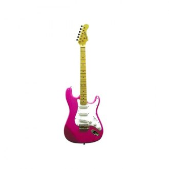 Main Street® - Double Cutaway Electric Guitar (Pink)