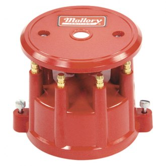 Mallory® - Red 8 Cylinder Distributor Cap