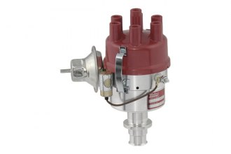 Mallory® - Dual Point 27 Series Distributor, LH Rotation