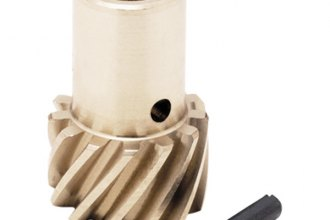 Mallory® - Bronze Distributor Drive Gear, RH Rotation, Shaft Outside/Gear Inside Dia. 0.491''