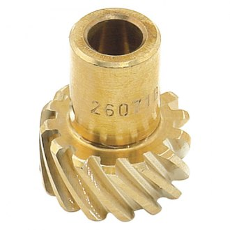 Mallory® - Distributor Drive Gear, LH Rotation, Shaft Outside/Gear Inside Dia. 0.491''