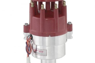 Mallory® - Comp S/S 32 Series Distributor with Stack Cap, RH Rotation and Mechanical Tach Drive