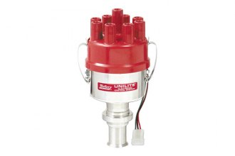 Mallory® - Unilite Electronic Ignition 37 Series Distributor, RH Rotation