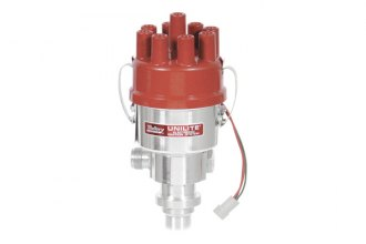 Mallory® - Unilite Electronic Ignition 38 Series Distributor, LH Rotation