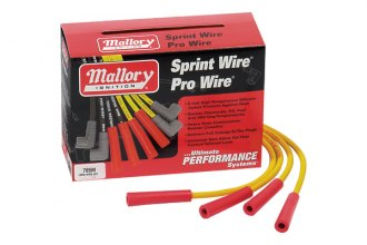 Mallory® - Sprint Wire Spark Plug Wire Kit