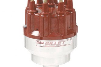 Mallory® - 84 Series Billet Competition Distributor with Stack Cap, LH Rotation