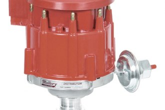 Mallory® - 85 Series Street Performance Distributor with Matching Performance Coil
