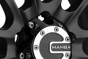 MAMBA® - M12 Matte Black with Machined Accents Close-Up