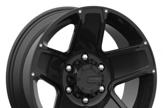 "MAMBA® - M13X Matte Black (16"" x 8"", +13 Offset, 6x114.3 Bolt Pattern, 78.1mm Hub)"