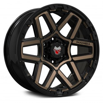 MAMBA® - M23 Black with Bronze Face