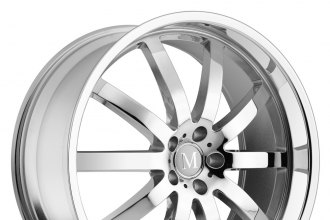 "MANDRUS® - WILHELM Chrome (18"" x 8.5"", +25 Offset, 5x112 Bolt Pattern, 66.56mm Hub)"
