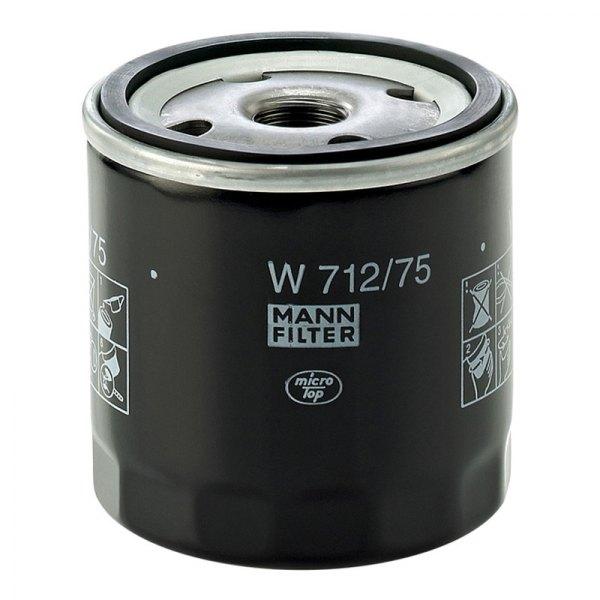 mann filter w712 75 spin on oil filter. Black Bedroom Furniture Sets. Home Design Ideas