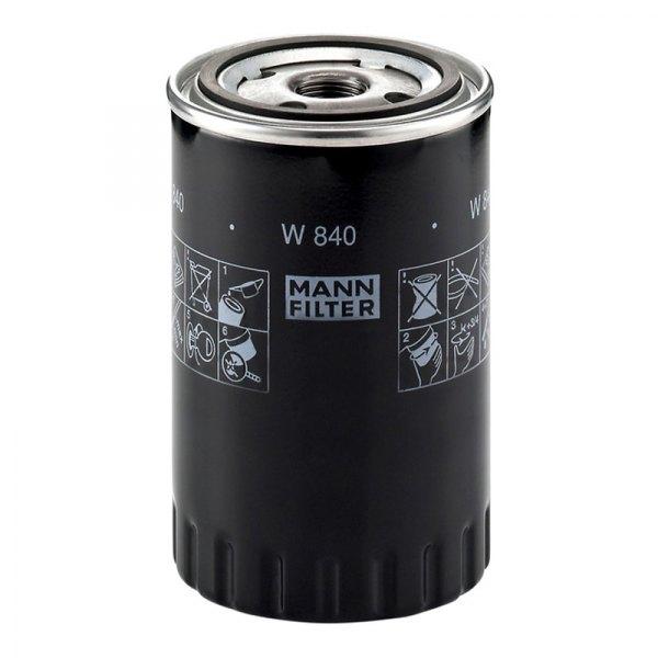 mann filter w840 spin on oil filter. Black Bedroom Furniture Sets. Home Design Ideas
