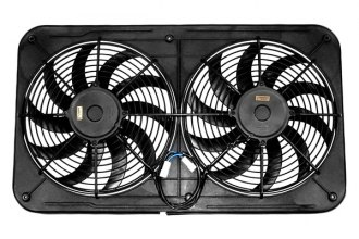 Maradyne® MJS23KC - Jetstreme II™ Series Dual Electric Fan with MFA100 and MFA111 Controls (12'', 130 W, Primary Fan, 2310 CFM, 14.4 Amp Draw)