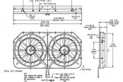 Maradyne® - Mach Two Extreme™ Dual Electric Fan, Schematic