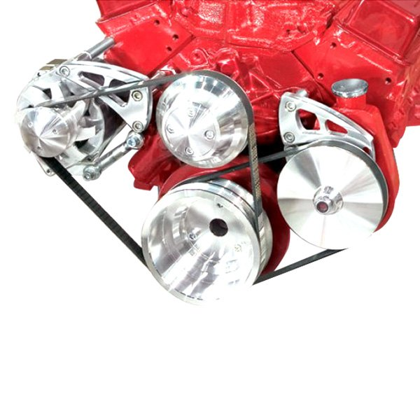 March Performance Pulley Kit Serpentine Performance Ratio: March Performance® 22013