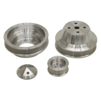March Performance® - Single 6-Rib Serpentine Fluid Damper Pulley Kit