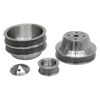 March Performance® - Double 6-Rib Serpentine Fluid Damper Pulley Kit