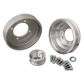 March Performance® - 6-Rib Serpentine Power and Amp Series Pulley Kit