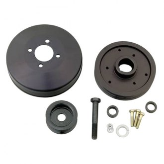 March Performance® - Black Aluminum Pulley Kit