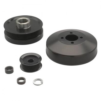 March Performance® - Black Aluminum Pulley Kit with S.F.I. Damper