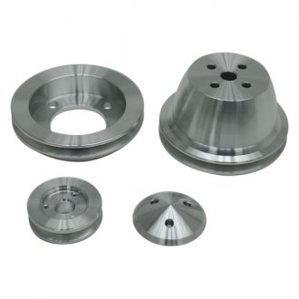 March Performance® - Single Groove High Water Flow Ratio Pulley Kit for Alternator Brackets 30355 and 30395