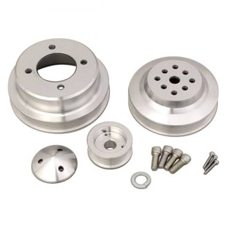 March Performance® - High Water Flow Ratio 6-Rib Serpentine Pulley Kit