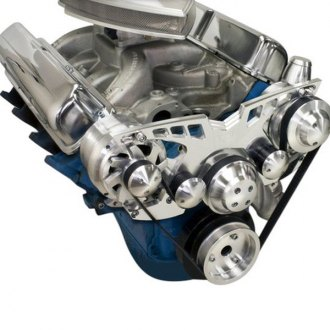 March Performance® - Pro-Track Alternator and Power Steering Only Serpentine All Inclusive Kit