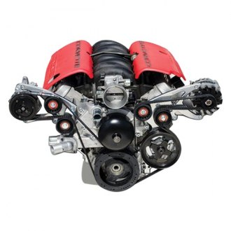 March Performance® - Sport Track Alternator and Power Steering or A/C with Optional Power Steering or A/C Serpentine All Inclusive Kit