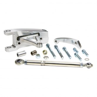 March Performance® - Short Water Pump Deluxe Inward Driver Side Mount Alternator Bracket Kit
