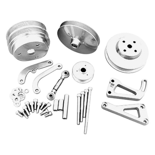 March Performance Pulley Kit Serpentine Performance Ratio: March Performance® 22031-09