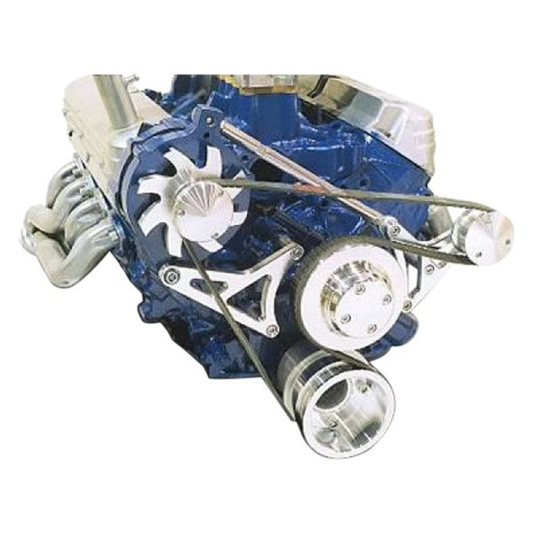 March Performance Pulley Kit Serpentine Performance Ratio: Serpentine Pulley And Bracket Kit