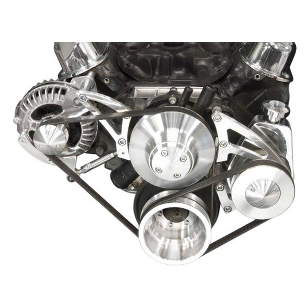 March Performance Pulley Kit Serpentine Performance Ratio: Deluxe Alternator With Optional