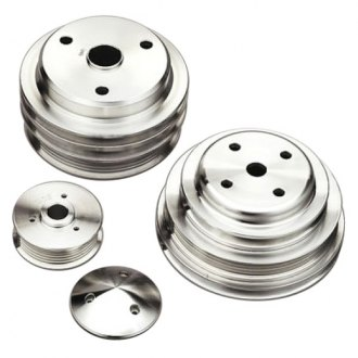 March Performance® - Aluminum Power and Amp Clear Series Pulley Kit