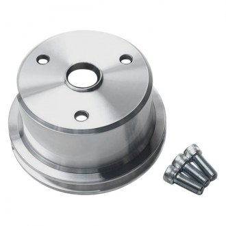 March Performance® - Long Water Pump Single Groove High Water Flow Ratio V-Belt Crank Pulley