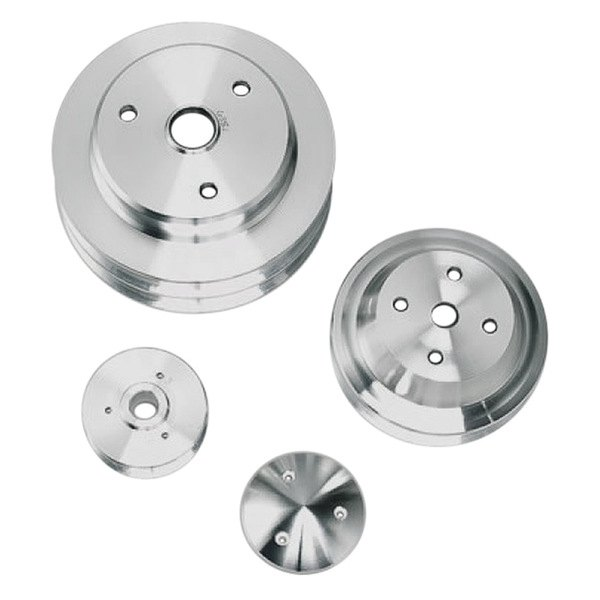 March Performance Pulley Kit Serpentine Performance Ratio: Long Water Pump High Water Flow