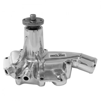 March Performance® - Tuff Stuff Chrome Engine Coolant Offset Water Pump