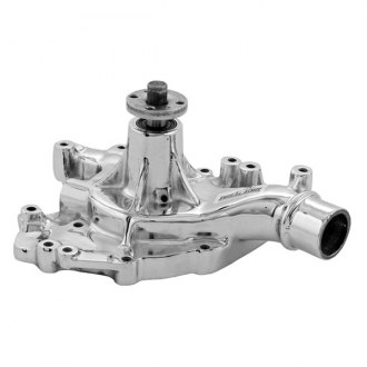 March Performance® - Tuff Stuff Chrome Engine Coolant Water Pump