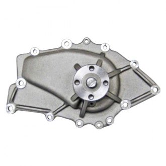 March Performance® - GMB Aluminum Satin Engine Coolant Water Pump