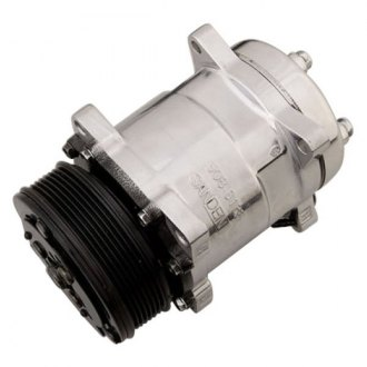 March Performance® - Sanden 508 Style A/C Compressor with Serpentine Pulley