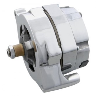 March Performance® - 100 Amp Polished Alternator