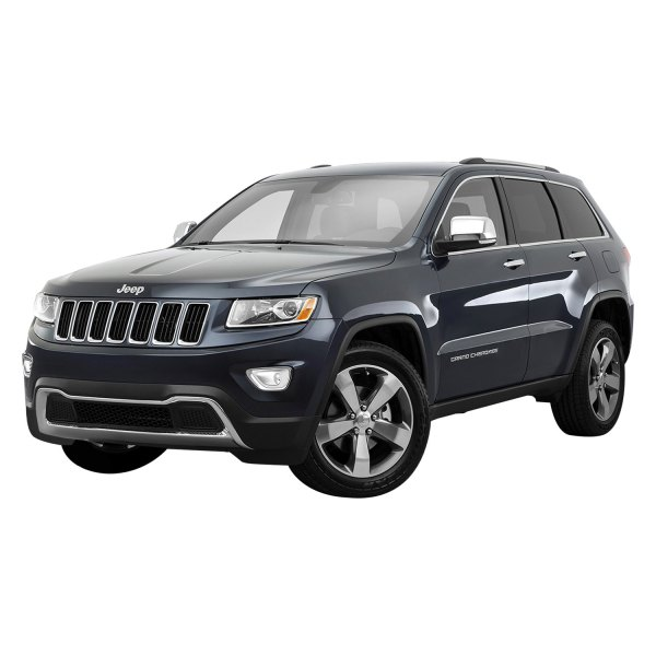 Marquee Jeep Grand Cherokee 2015 Chrome Fog Light Bezels